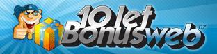 BonusWeb.cz: logo k 10. narozeninám